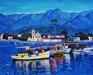 Boats in Paraty